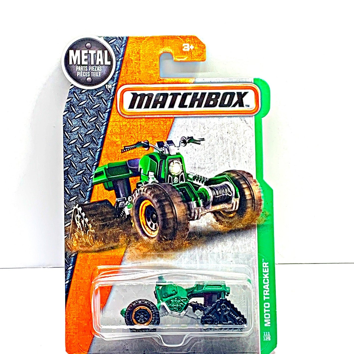 Matchbox Moto tracker - Gonzo's Garage