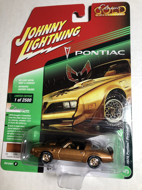 Johnny Lightning 1978 Pontiac Firebird Trans Am - Gonzo's Garage