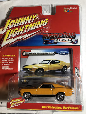 Johnny Lightning 1970 Mustang Mach 1 - Gonzo's Garage