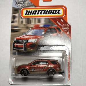 Matchbox 16 Ford Interceptor Utility - Gonzo's Garage