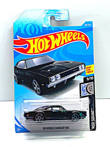 Hot wheels 69 Dodge Charger 500 - Gonzo's Garage