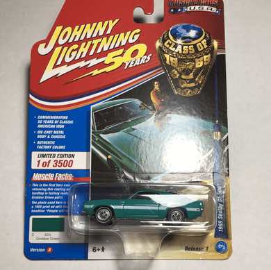 Johnny Lightning 1969 Shelby GT 500 - Gonzo's Garage