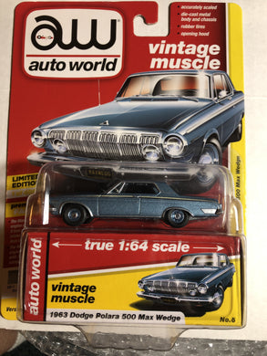 Auto World 1963 Dodge Polara 500 Max Wedge - Gonzo's Garage