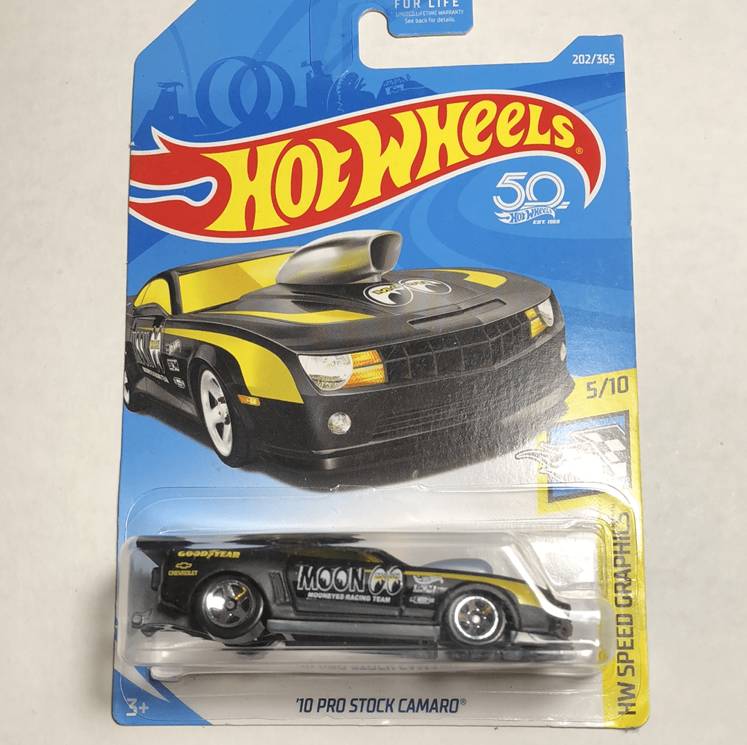 Hot wheels 10 pro stock Camaro - Gonzo's Garage