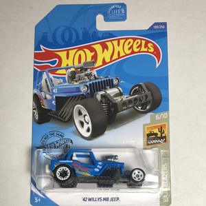 Hot Wheels 42 Willys MB Jeep - Gonzo's Garage