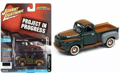 Johnny Lightning project in progress 1950 Ford F-1 pickup - Gonzo's Garage