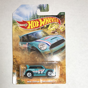 Hot Wheels Mini Cooper S Challenge - Gonzo's Garage