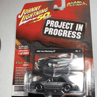 Johnny Lightning 1982 Ford Mustang GT - Gonzo's Garage
