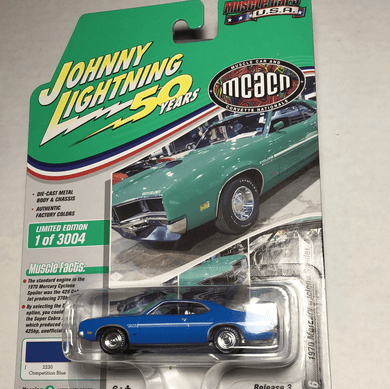 Johnny Lightning 1970 Mercury Cyclone Spoiler - Gonzo's Garage