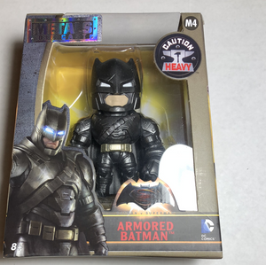 "Metals diecast Armored Batman 4"" Batman vs Superman - Gonzo's Garage"