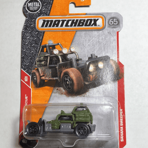 Matchbox Sahara Sweeper - Gonzo's Garage