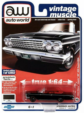 Auto World 1962 Chevy Impala SS 409 convertible - Gonzo's Garage