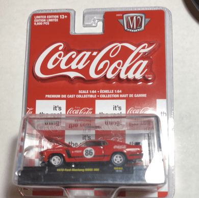 M2 Machines Coca-Cola 1970 Ford Mustang Boss 302 - Gonzo's Garage