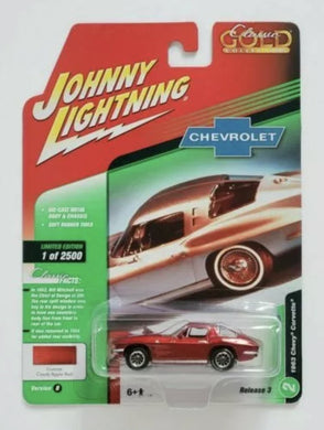 Johnny lightning 1963 Chevy corvette - Gonzo's Garage