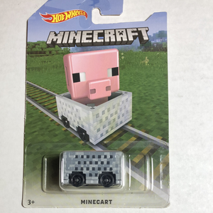 Hot Wheels Minecart - Gonzo's Garage