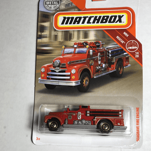 Matchbox Seagrave fire Engine - Gonzo's Garage