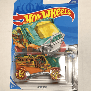 Hot Wheels Aero Pod - Gonzo's Garage