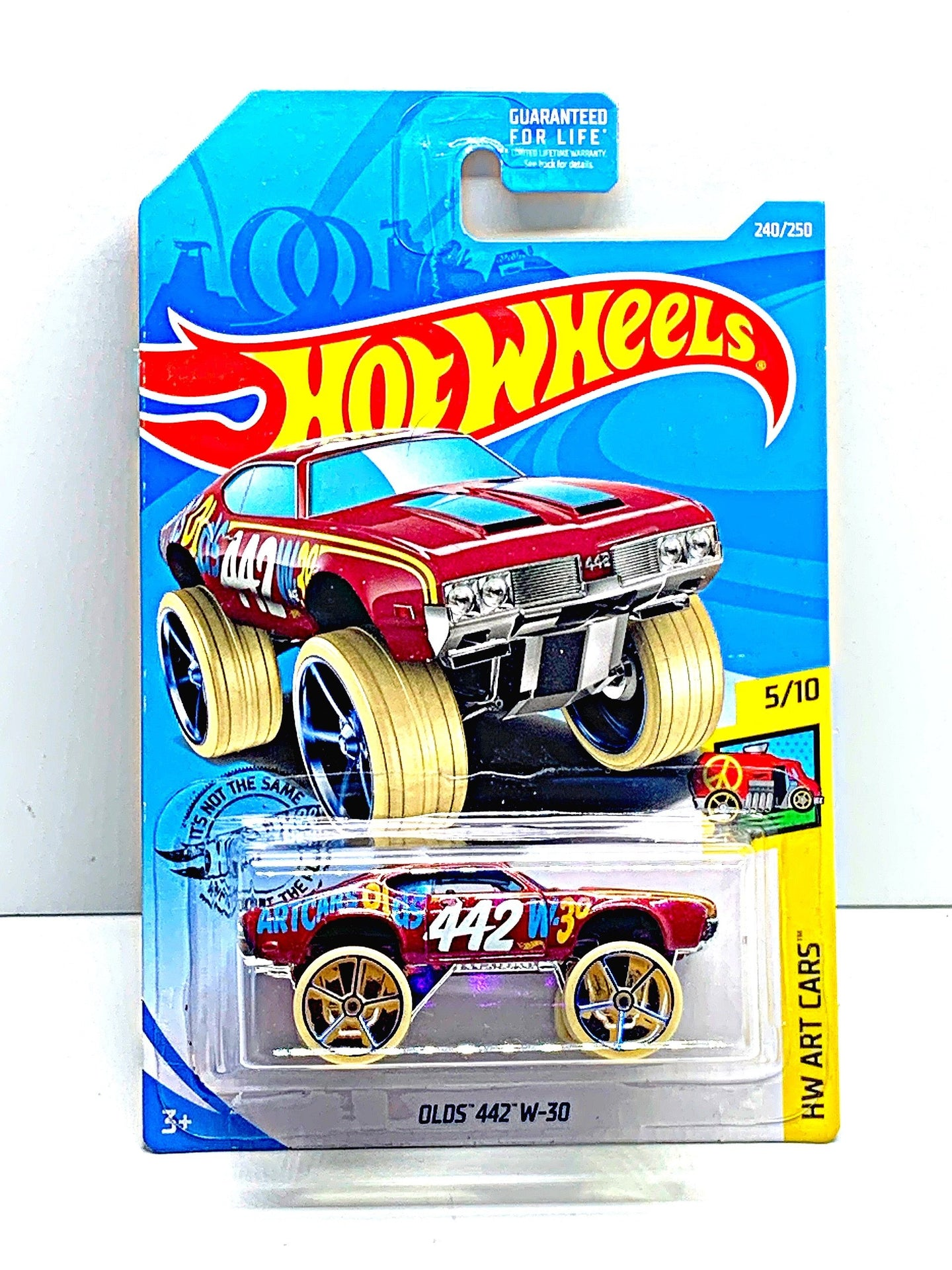 Hot wheels Olds 442 W-30 - Gonzo's Garage