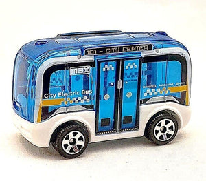 Matchbox self driving bus - Gonzo's Garage