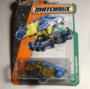 Matchbox Sub Seeker - Gonzo's Garage