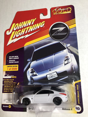 Johnny Lightning 2004 Nissan 350Z - Gonzo's Garage