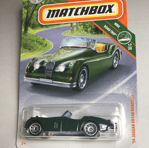 Matchbox 56 Jaguar XK 140 Roadster - Gonzo's Garage