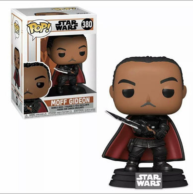 Funko POP Star Wars: The Mandalorian - Moff Gideon w/ Dark Saber - Gonzo's Garage