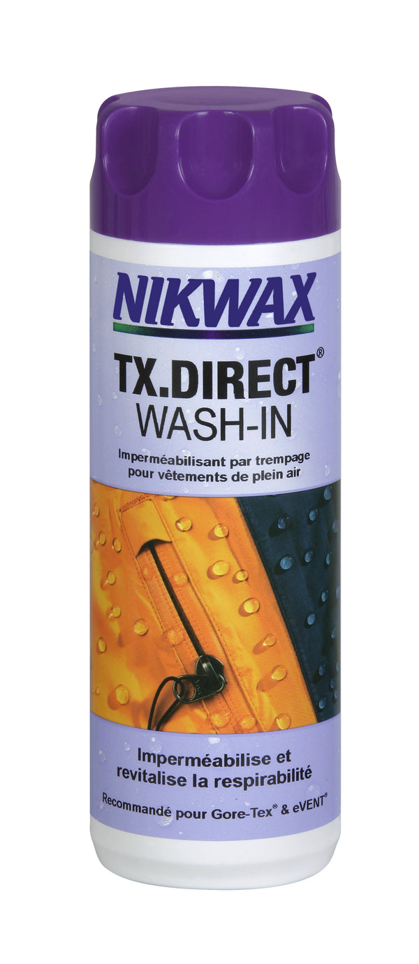 Nikwax Imperméabilisant Tx direct wash in en 300ml