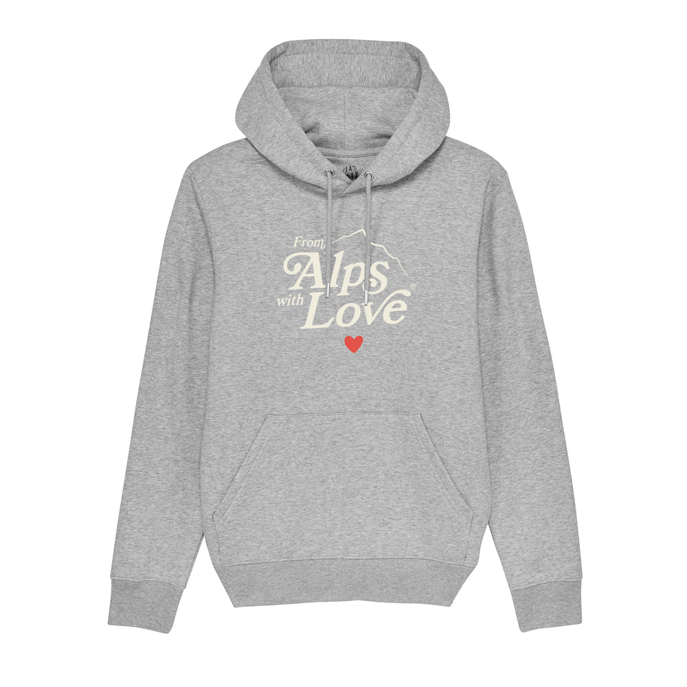 "Sweat à Capuche imprimé Unisexe ""From Alps with love"""