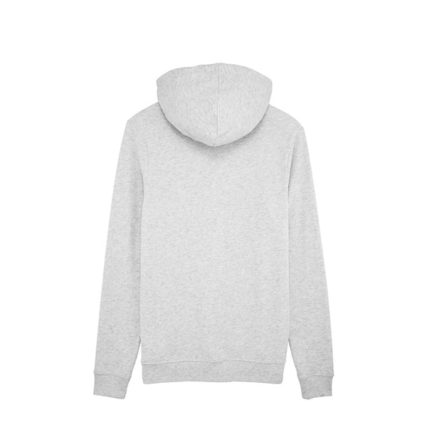 SWEAT BRODÉ UNISEXE BLANC CHINÉ