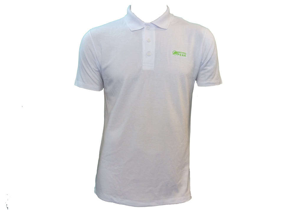 Triolet H Polo Homme Blanc