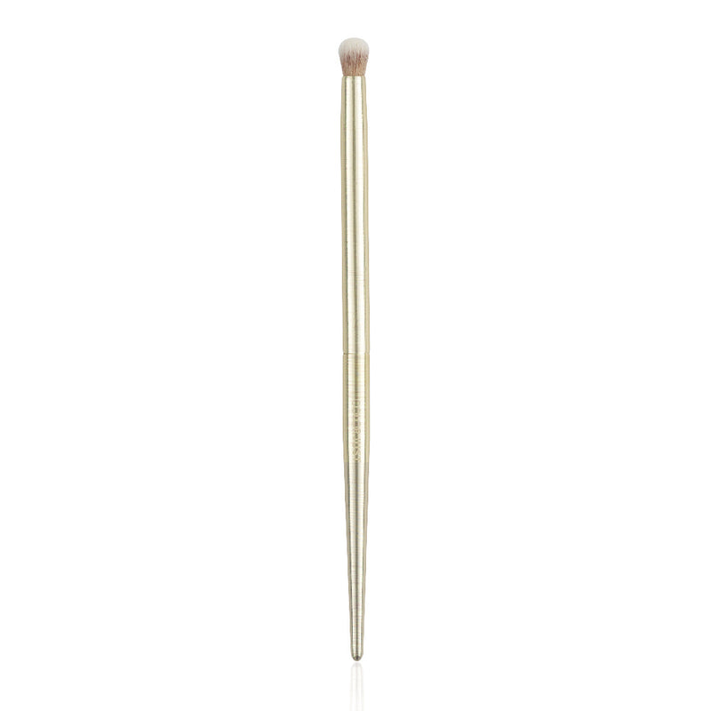 The Limited Edition Dome Crease Brush in Scratched Gold