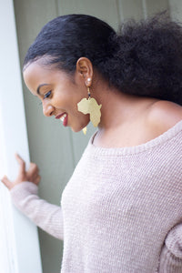 4 Insanely Beautiful Africa Shaped Earrings