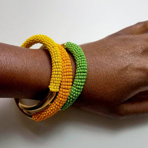 Kiara Claw African Beaded Bracelet - The Afropolitan Shop