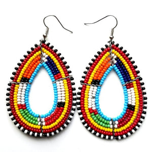 Tanei Beaded Earring - The Afropolitan Shop
