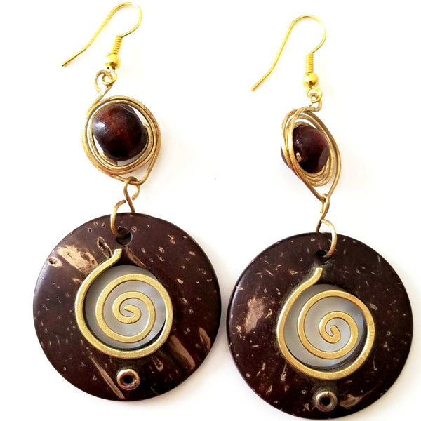 Nzete African Earrings - The Afropolitan Shop