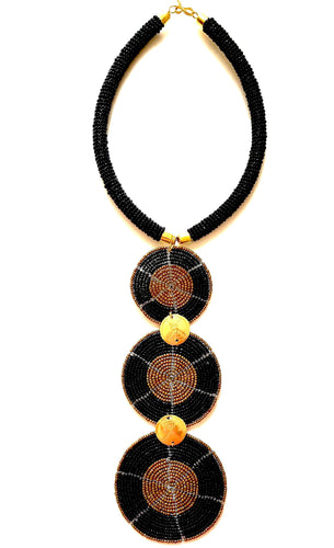 Urembo Tie Beaded Necklace - The Afropolitan Shop