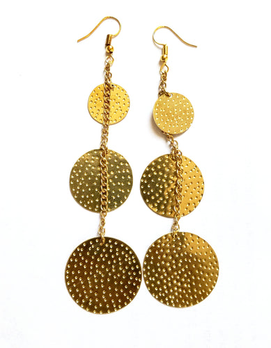 Upepo Earrings - The Afropolitan Shop