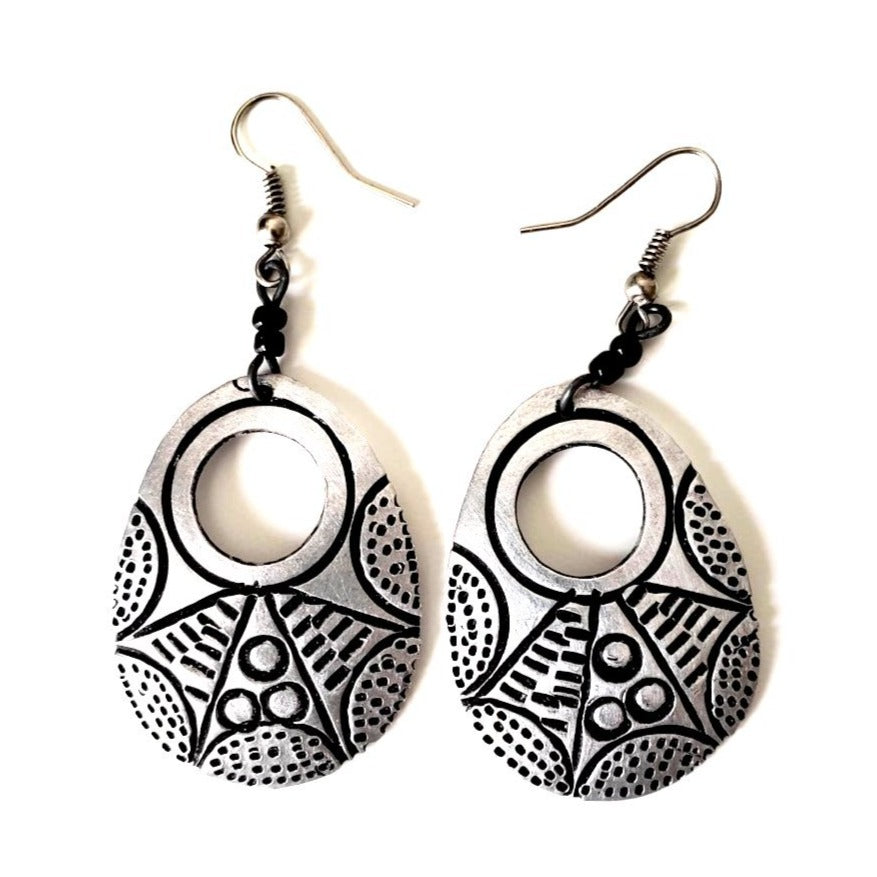 Ukweli African Earrings - The Afropolitan Shop