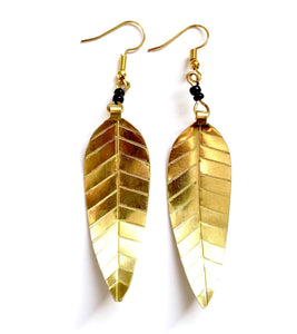 Sekai Gold African Earrings - The Afropolitan Shop