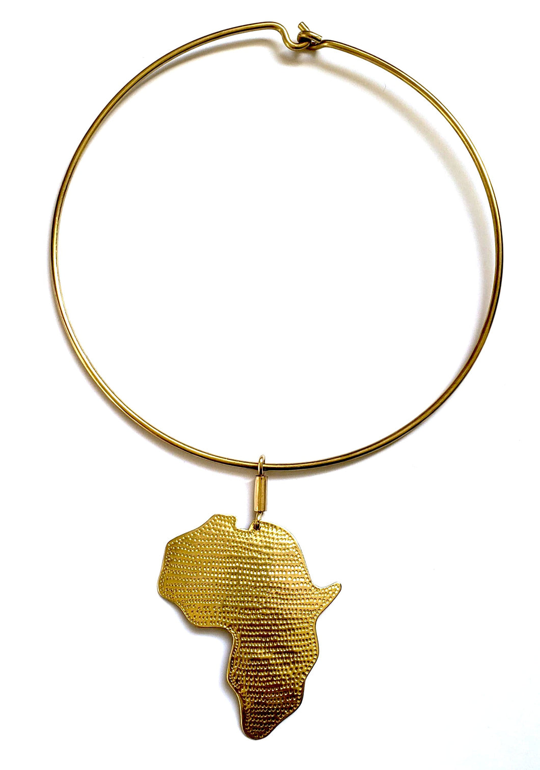 Maridadi African Map Choker - The Afropolitan Shop