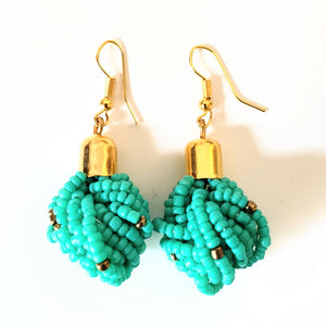 Kilifi Green African Earrings