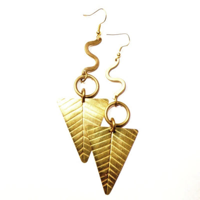 Egypt Gold African Earrings - The Afropolitan Shop