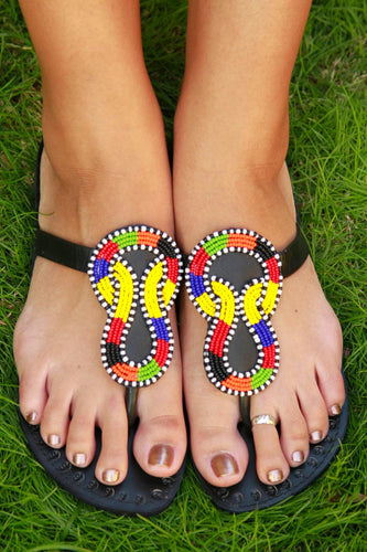 Infinity Sandals - The Afropolitan Shop