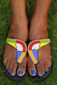 Boomerang Africa Sandals - The Afropolitan Shop