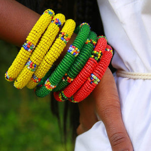 Savanna Beaded Bracelet - The Afropolitan Shop