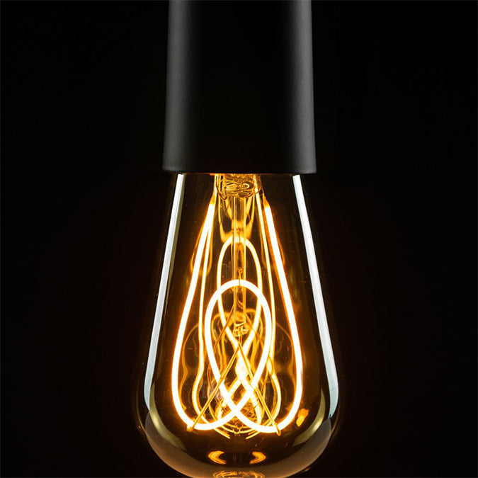 LED Filament Glühbirne | EDISON golden