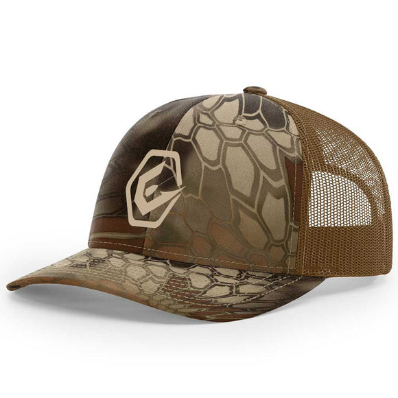 Elite Anglr Tan Kryptek Hat