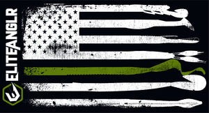 Elite Anglr Lure Flag Support - Military