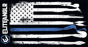 Elite Anglr Lure Flag Support - Police